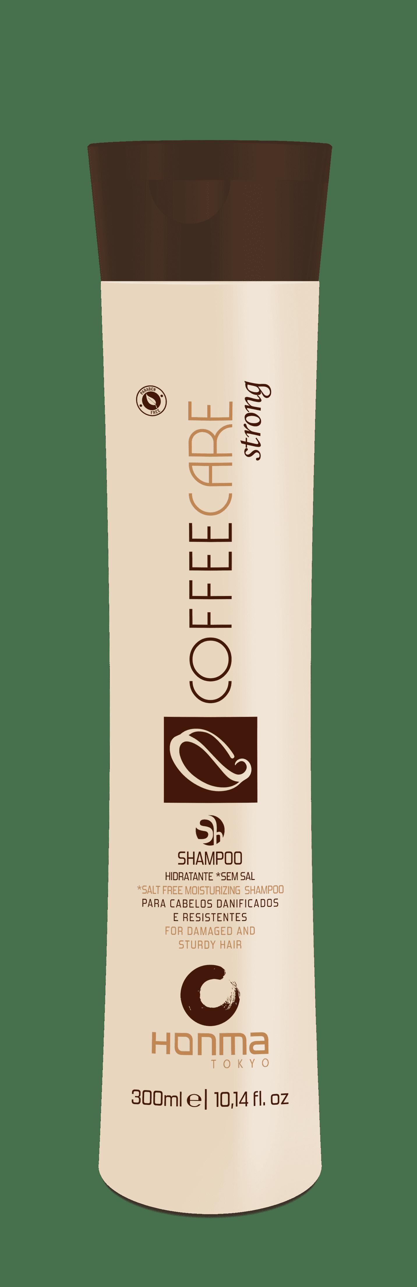 Honma Tokyo, Coffee Care Strong Бессолевой увлажняющий шампунь восстановление и защита, 1000 мл