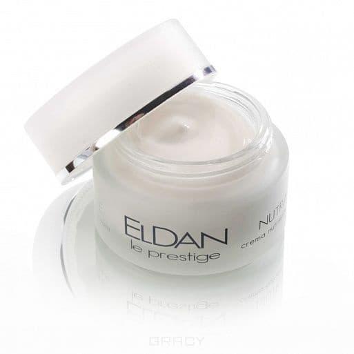 Eldan Питательный крем с рисовыми протеинами, 50 мл eldan интенсивная жидкость гидро с eldan hydro c eld 17 1 7 мл