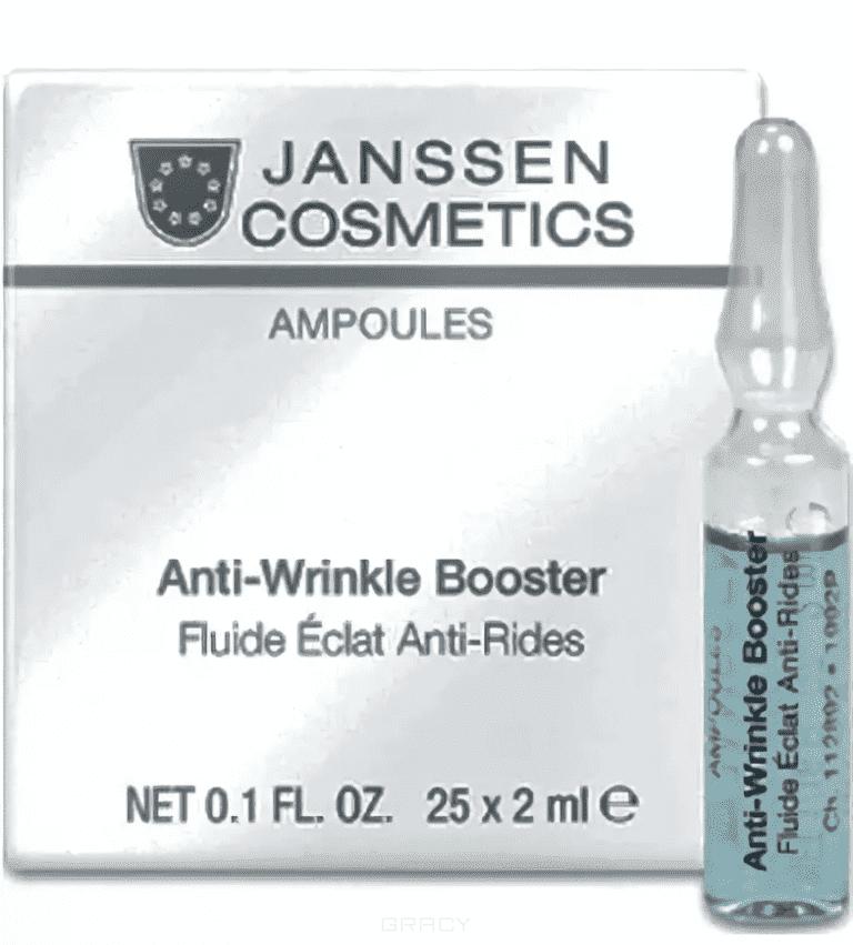 Janssen Реструктурирующая сыворотка против морщин с лифтинг-эффектом Anti-wrinkle booster, 25х2 мл janssen tropic power матригель лифтинг маска с экстрактами тропических фруктов 2 желтых круга