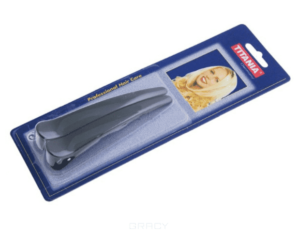 Titania Заколки 8026В 12 см, 2 шт зажим для волос funny bunny текстильный большой 2 шт в ассортименте