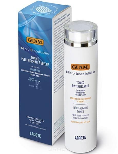 Guam Тоник для нормальной  и сухой кожи Micro Biocellulaire, 200 мл, Тоник для нормальной  и сухо�� кожи Micro Biocellulaire, 200 мл, 200 мл, 1076 guam guam молочко увлажняющее очищающее micro biocellulaire 1090 200 мл