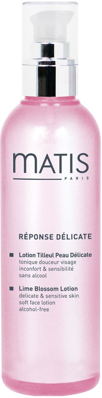 Matis Лосьон из цветов липы Линия для чувствительной кожи, 200 мл matis премиум линия лосьон для лица премиум линия лосьон для лица