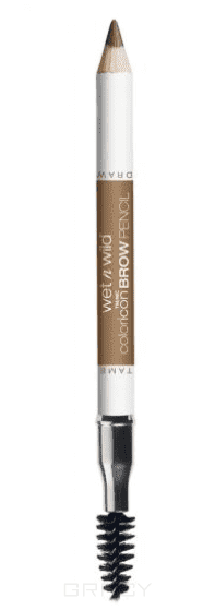 Wet n Wild Карандаш для бровей Color Icon Brow Pencil, (2 тона), 1 шт, E6231 brunettes do it better wet n wild воск для бровей color icon brow shaper e631 a clear conscience