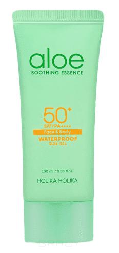 """где купить Holika Holika Солнцезащитный гель """"Алое"""" Aloe Water Proof Sun Gel, 100 мл по лучшей цене"""