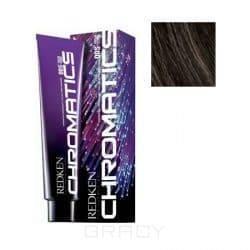 Redken, Краска для волос без аммиака Chromatics, 60 мл (60 оттенков) 4.03/4NW натуральный/теплый Nat Warm