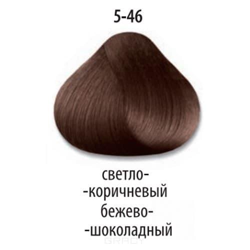 Constant Delight, Стойкая крем-краска для волос Delight Trionfo (63 оттенка), 60 мл 5-46 Светлый коричневый бежевый шоколадный