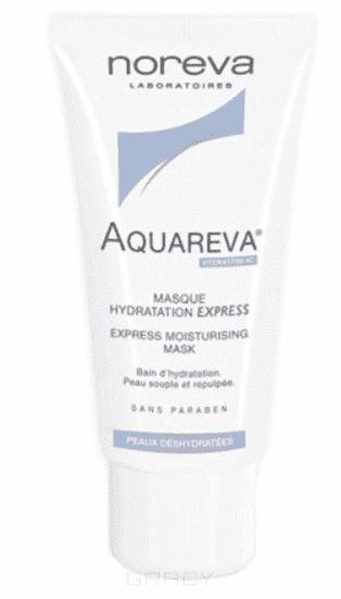 Noreva Увлажняющая экспресс-маска Aquareva, 50 мл, Увлажняющая экспресс-маска Aquareva, 50 мл, 50 мл интенсивный ночной увлажняющий уход aquareva 50 мл