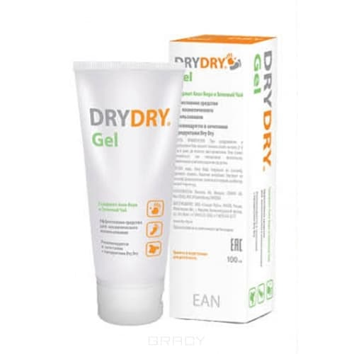 Dry Dry Гель от обильного потоотделения, 100 мл драй контрол антиперспирант от обильного потоотделения 30