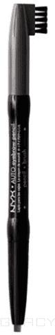 цена на NYX Карандаш для бровей Auto Eyebrow Pencil Charcoal NEP07, Карандаш для бровей Auto Eyebrow Pencil Charcoal NEP07, 1 шт