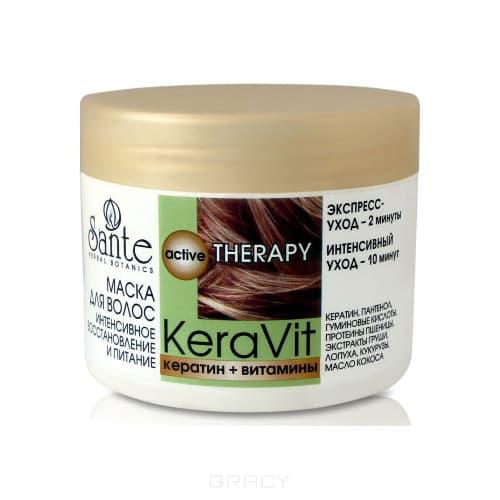 Sante Маска для волос интенсивного восстановления и питания, 300 мл, Маска для волос интенсивного восстановления и питания, 300 мл , 300 мл недорого