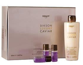 Dikson Набор Luxury Caviar насыщенный ампульный концентрат 8х10 мл+ ревитализирующий крем с Complexe Caviar 250 мл, Набор насыщенный ампульный концентрат + ревитализирующий крем с  Complexe Caviar Luxury Caviar, 1 набор