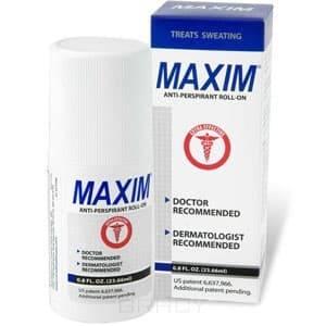 Фото #1: Дезодорант-антиперсперант с шариковым аппликатором для нормальной кожи 15% Maxim Antiperspirant  Reg