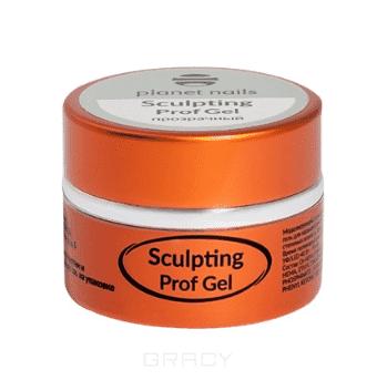 Planet Nails Гель Sculpting Prof Gel моделирующий прозрачный , Гель Sculpting Prof Gel моделирующий прозрачный, 5 г sd prof 5 new line входная 2050х970 металлическая черный шелк венге левая