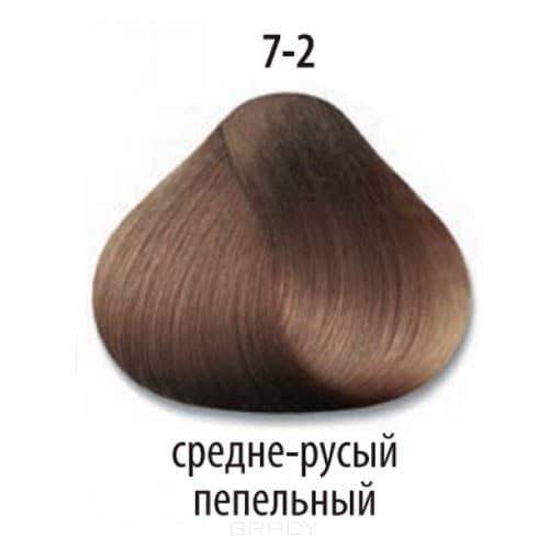 Constant Delight, Стойкая крем-краска для волос Delight Trionfo (63 оттенка), 60 мл 7-2 Средний русый пепельный