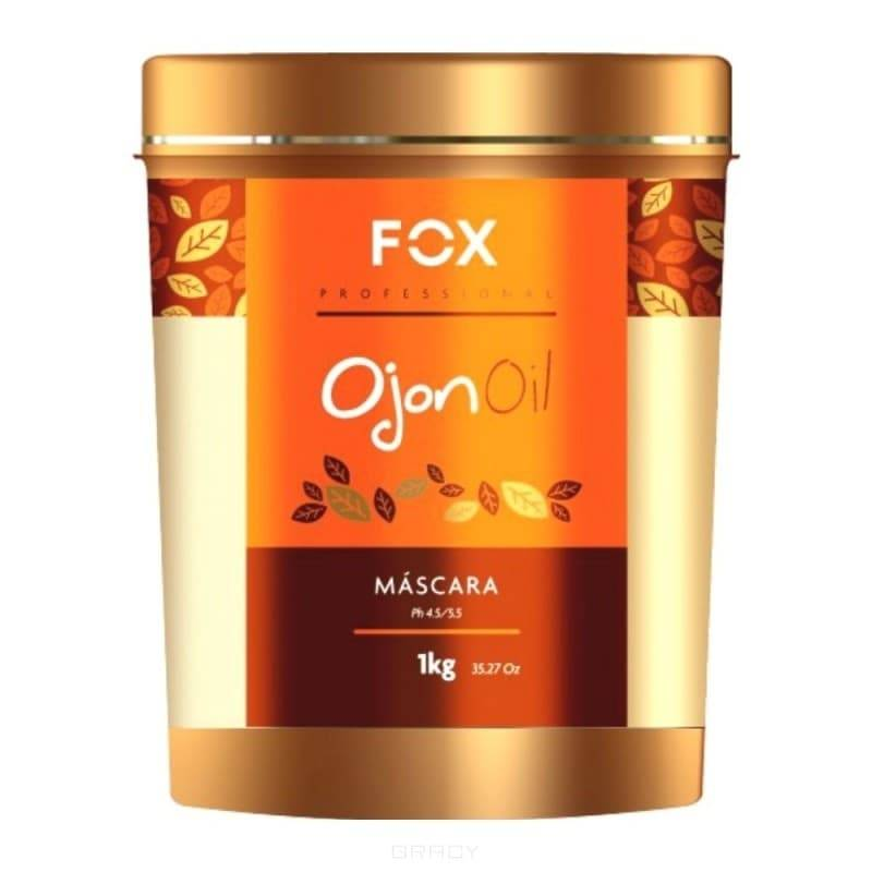 Fox Professional Питательная маска c маслом ореха пальмы ожон Ojon Oil , 500 мл new creative simulation fox toy polyethylene