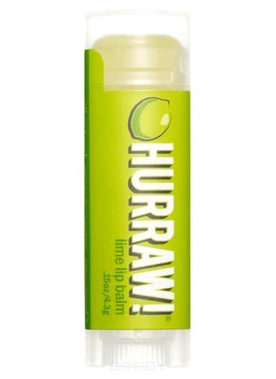 Бальзам для губ Лайм Lime Lip Balm hurraw бальзам для губ coconut lip balm 4 3 г