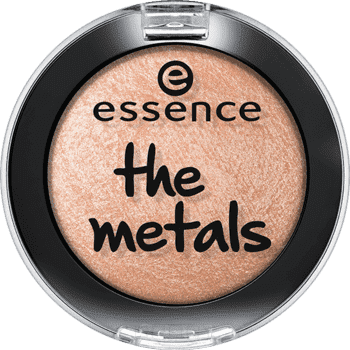 Essence Тени для век the metals, 2.7 гр, Тени для век the metals, 2.7 гр, т.06 Абрикосовый, 2.7 гр тени для век essence the metals eyeshadow 06 цвет 06 rose razzle dazzle variant hex name e9bfbb