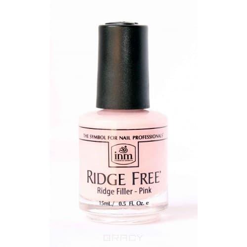 INM Покрытие для разглаживания неровностей розовое Ridge Free Pink, 15 мл