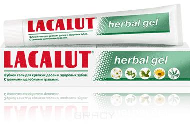 Lacalut Зубной гель Herbal gel, Зубной гель Herbal gel, 50 мл зубные пасты lacalut зубной гель хербал 75мл