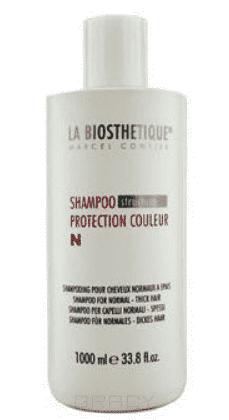 La Biosthetique Шампунь для окрашенных нормальных волос Shampoo Protection Couleur N, 1 л la biosthetique shampoo protection couleur n шампунь для окрашенных волос и нормальных волос 100 мл