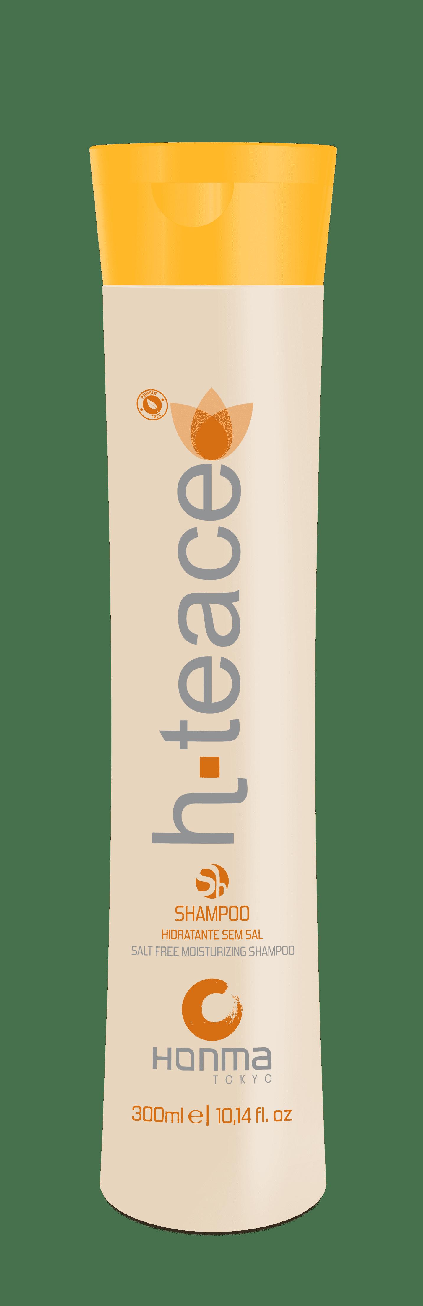 Honma Tokyo H-Teace Бессолевой шампунь для окрашенных волос, 300 мл