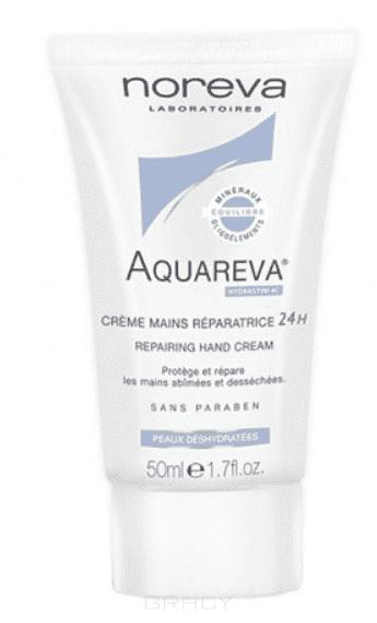 Noreva Восстанавливающий крем для рук Aquareva, 50 мл, Восстанавливающий крем для рук Aquareva, 50 мл, 50 мл крем noreva крем для рук