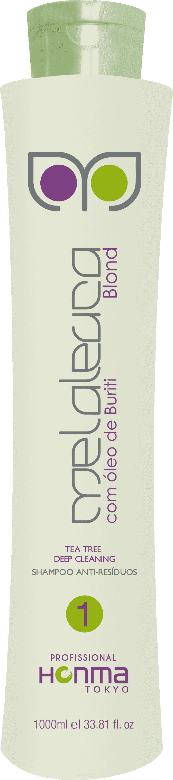 Honma Tokyo Подготавливающий шампунь Escova de Melaleuca Blond Шаг 1 honma tokyo шампунь глубокой очистки линии n solutions 1000 мл