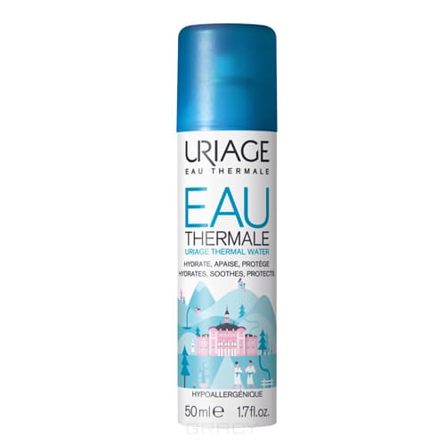 Uriage Термальная вода Eau Thermale, 300 мл вода парфюмированная uriage урьяж первая вода парфюмированная флакон с распылителем 100 мл