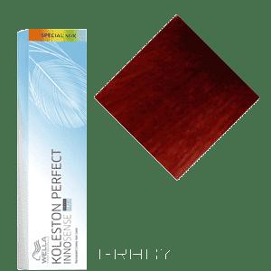 Wella, Стойкая крем-краска Koleston Perfect Innosense, 60 мл 0/43 красно-золотистый