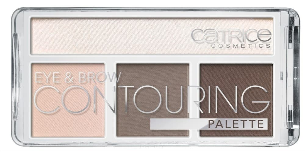 Catrice Палетка для контурирования век и бровей Eye&Brow Contouring Palette But First (2 оттенка), 010 Cold Chocolate too faced matte chocolate chip палетка матовых теней matte chocolate chip палетка матовых теней