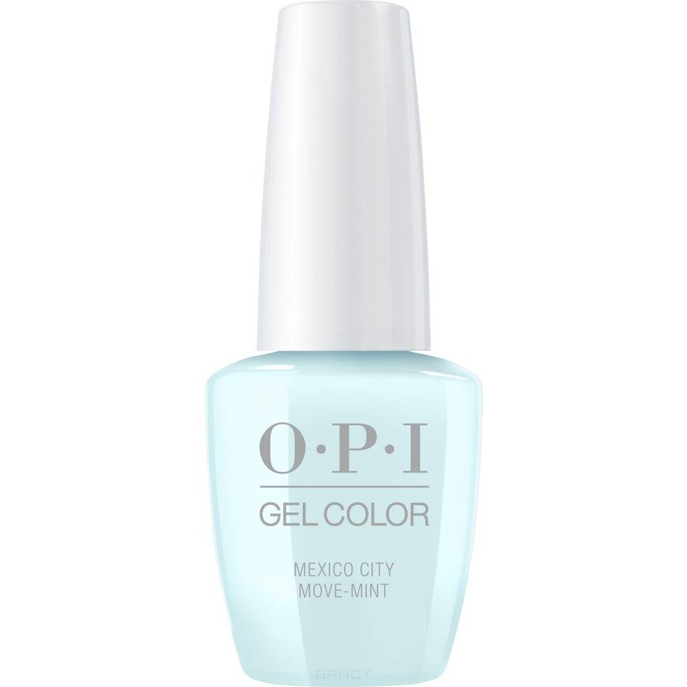 OPI, Гель-лак GelColor, 15 мл (259 цветов) Mexico City Move mint / Mexico City