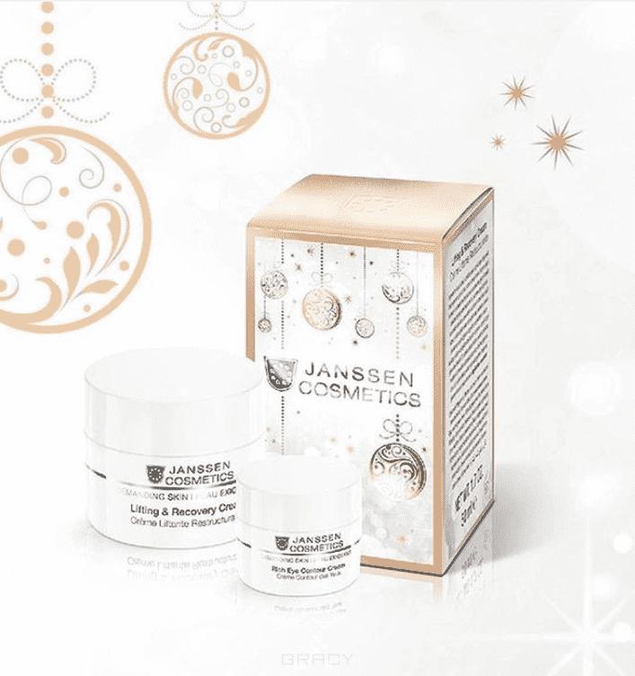Janssen Подарочный набор Кристмас J0021 + J0061, 50/15 мл declare восстанавливающий гель для кожи вокруг глаз с массажным эффектом perfect eye fluid 15 мл