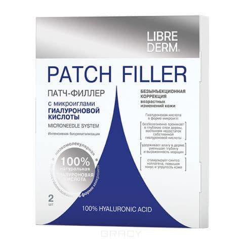 Librederm Патч-филлер с микроиглами гиалуроновой кислоты, №2, Патч-филлер с микроиглами гиалуроновой кислоты, №2, 2 шт librederm патч филлер с микроиглами гиалуроновой кислоты 2