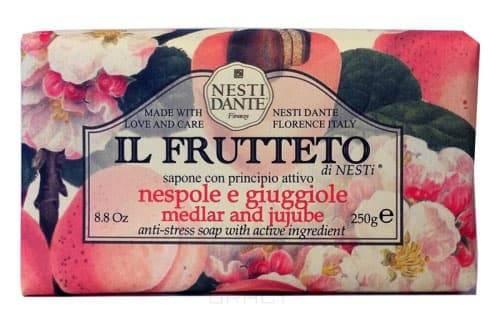 Nesti Dante Мыло Мушмула и китайский финик IL Frutteto, 250 гр nesti dante мыло дрок dei colli fiorentini 250 гр мыло дрок dei colli fiorentini 250 гр 250 гр