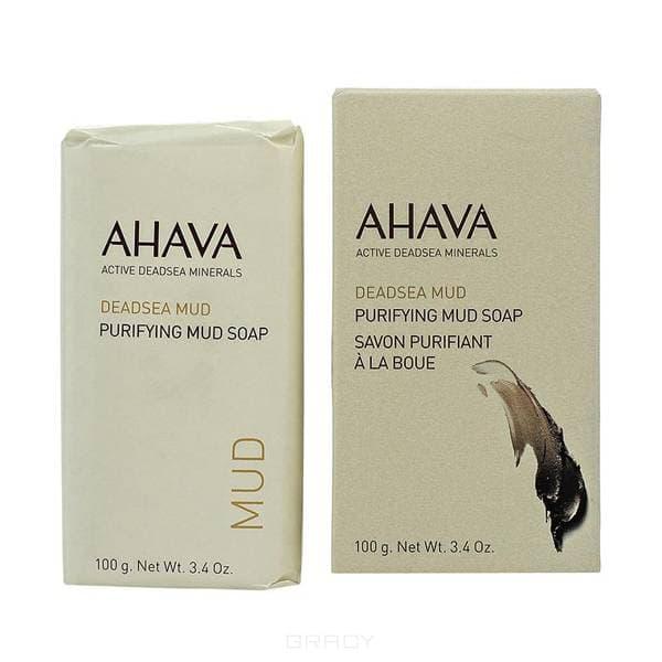 Ahava Мыло на основе грязи мертвого моря Deadsea Mud, 100 гр ahava deadsea mud dermud intensive hand cream активный крем для рук 100 мл