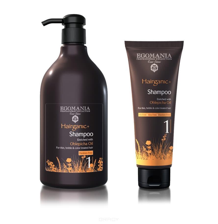 Egomania Шампунь с маслом облепихи для тонких, ломких и окрашенных волос