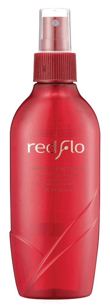 Купить Flor de Man - Увлажняющий мист-фиксатор для волос с камелией Редфло Redflo Hair Setting Mist, 210 мл