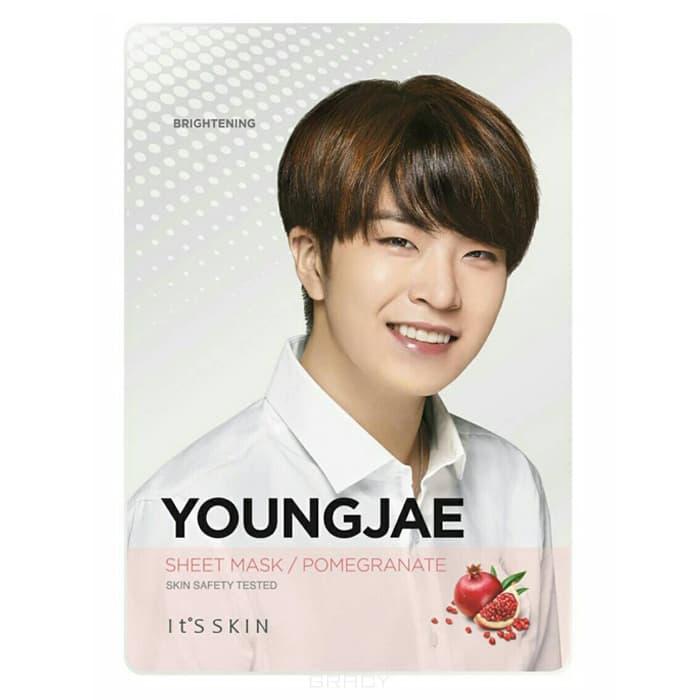 Купить It's Skin - Укрепляющая тканевая маска Гот7 Ёнджэ , гранат YoungJae Pomegranate Mask Sheet, 20 г