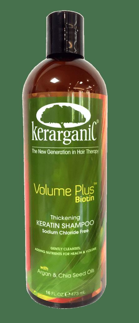 Kerarganic Безсульфатный кератиновый шампунь с Биотином «Объем плюс биотин» kerarganic органический шампунь для укрепления волос scalp