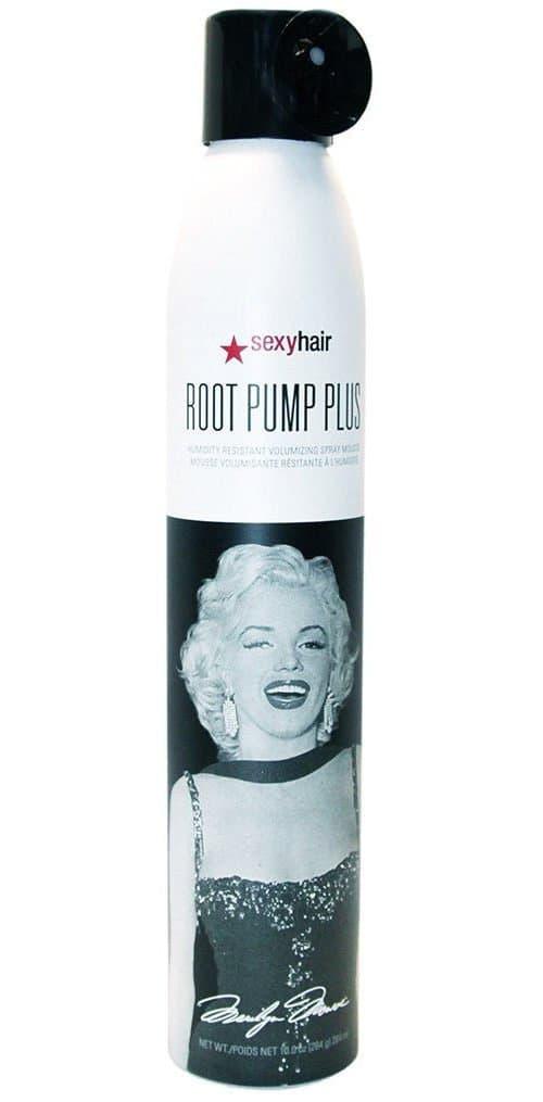 Sexy Hair Мусс для объема влагостойкий спрей Root Pump Plus Spray Mousse, 284 мл спрей мусс barex лак сильной фиксации с d пантенолом