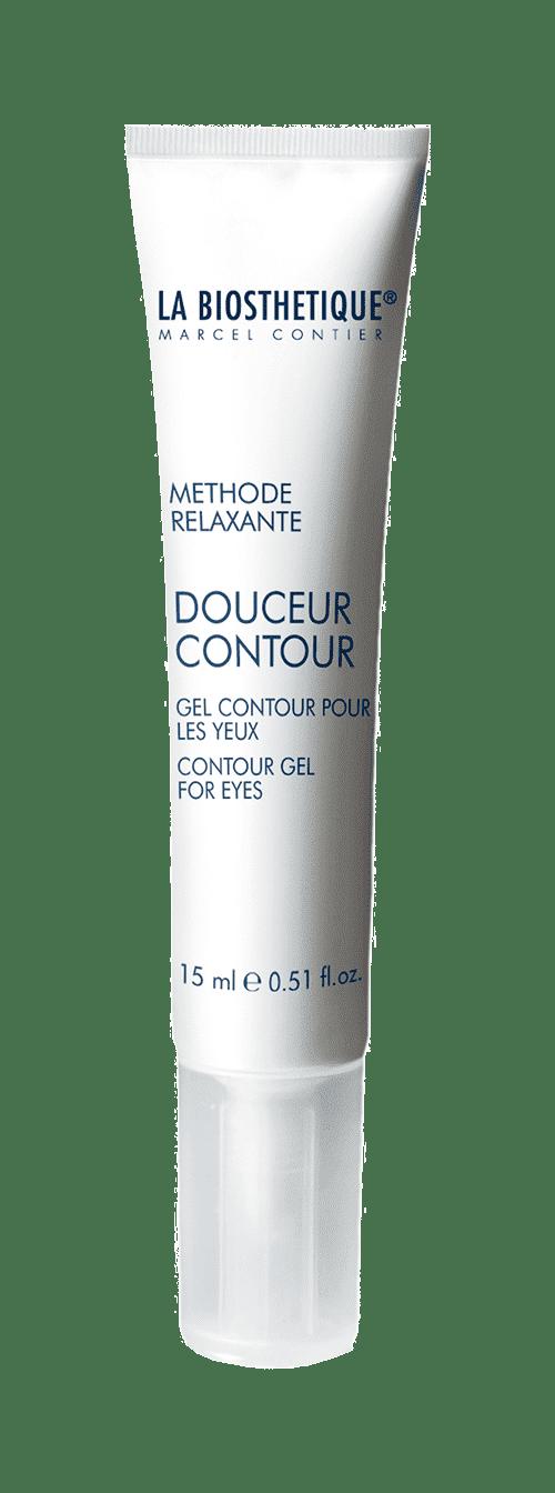 La Biosthetique Успокаивающий гель для снятия отёчности и тёмных кругов под глазами Douceur Contour, 15 мл declare восстанавливающий гель для кожи вокруг глаз revitalizing eye contour gel 15 мл