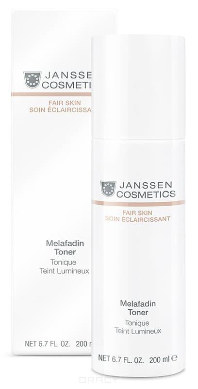 Janssen Осветляющий тоник Fair Skin, 200 мл janssen collagen fair skin осветляющий коллаген 1 белый лист