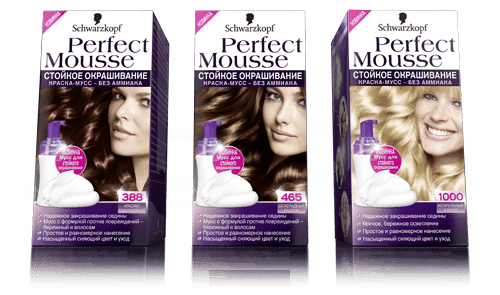 Schwarzkopf Professional Краска для волос Perfect Mousse, 35 мл (24 оттенка), 600 Светлый Каштан  , 35 мл perfect mousse perfect mousse краска мусс 465 шоколадный каштан