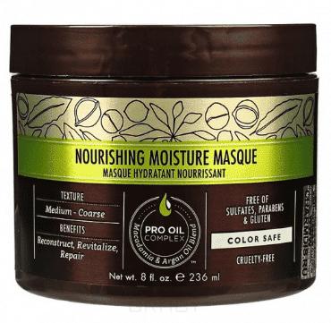 Macadamia Natural Oil , Маска питательная увлажняющая для всех типов волос Nourishing Moisture Masque, 500 мл