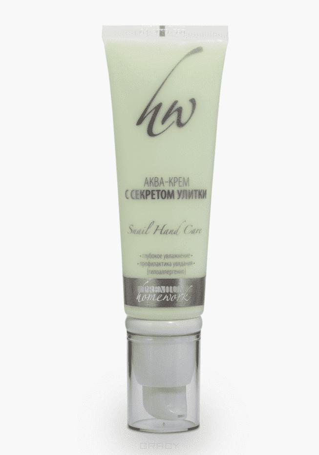 Premium Аква-крем для рук секретом улитки Homework, 50 мл seed dormancy and germination