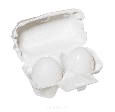 Holika Holika Мыло маска c яичным белком Egg Soap, 50 г*2 ночная маска holika holika honey sleeping pack canola объем 90 мл