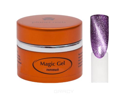 Planet Nails, Гель magic Gel магнитный Планет Нейлс, 5 г (8 оттенков) Гель magic Gel магнитный, 5 г