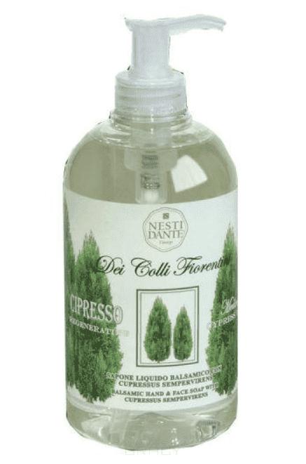 Купить со скидкой Nesti Dante - Жидкое мыло Восстанавливающий кипарис Regenerating Cypress Tree, 500 мл