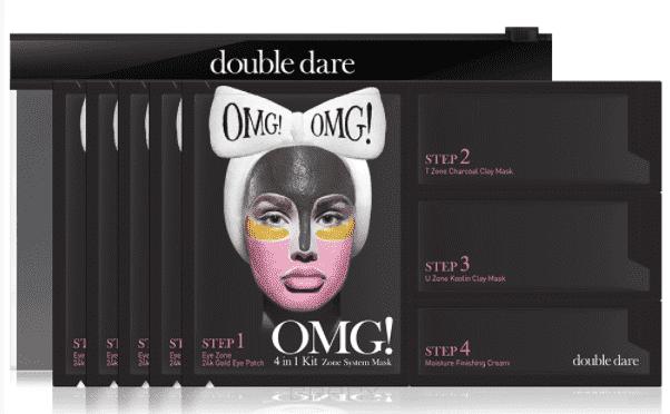 Double Dare OMG Четырехкомпонентный комплекс масок «Система зон», 5 шт недорого