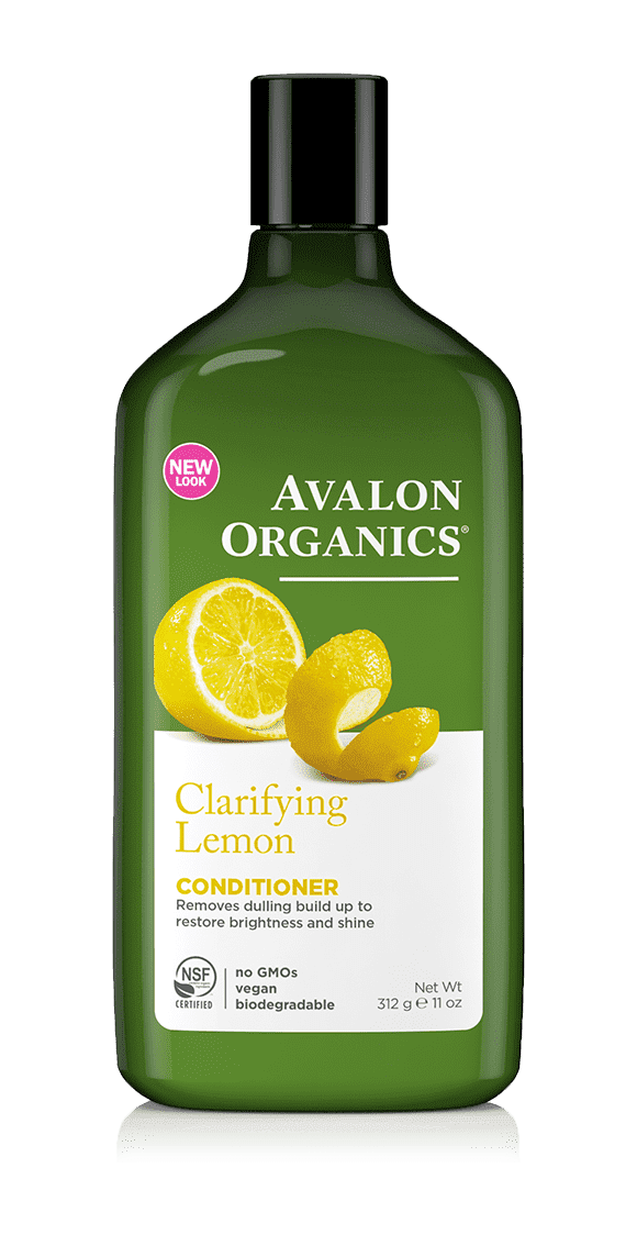 Avalon Organics Кондиционер с лимоном Lemon Clarifying Conditioner, 325 мл лосьон avalon organics rosemary hand